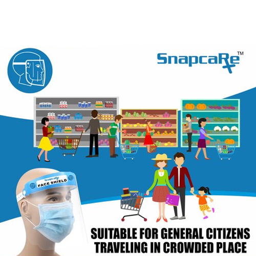 Snap Care Face Shield